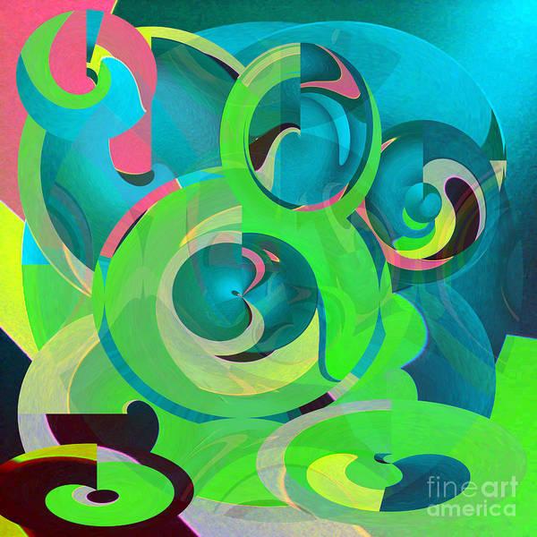 Wall Art - Digital Art - Circles Of Life  by Merice Ewart