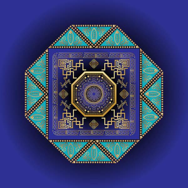 Digital Art - Circumplexical No 3555 by Alan Bennington