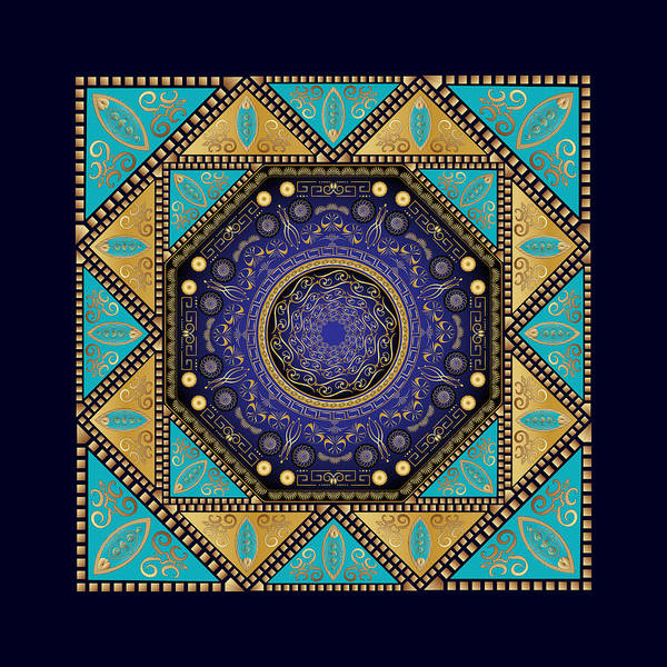 Digital Art - Circumplexical No 3636 by Alan Bennington