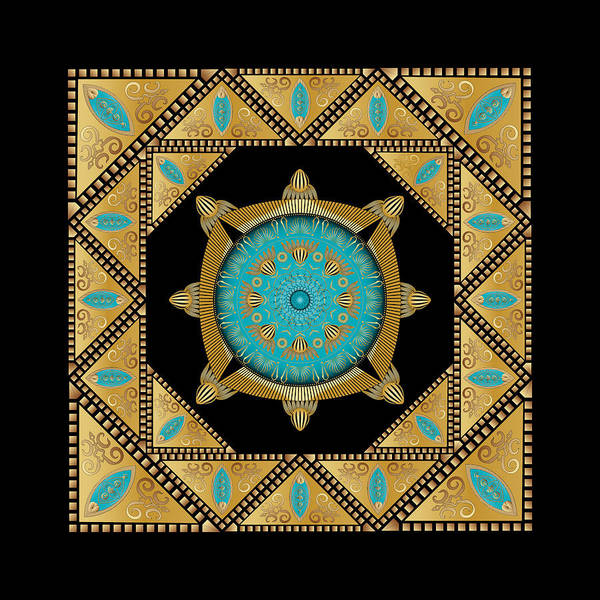 Digital Art - Circumplexical No 3637 by Alan Bennington