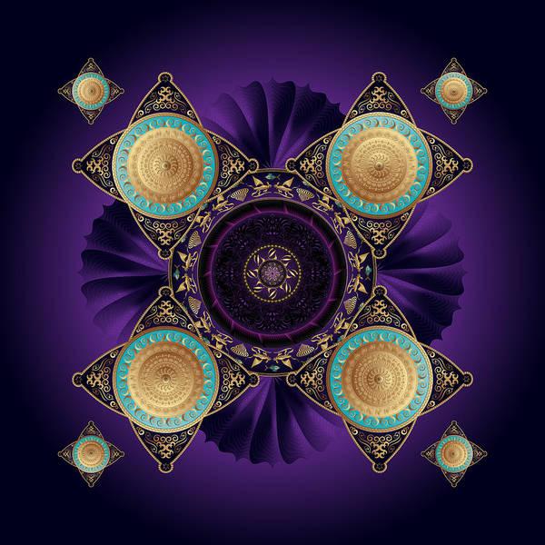 Digital Art - Circumplexical No 3643 by Alan Bennington