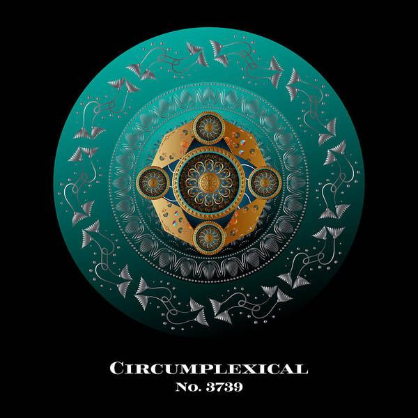 Circumplexical No 3739.1 Art Print