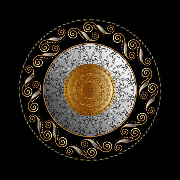 Digital Art - Circumplexical No 3745 by Alan Bennington