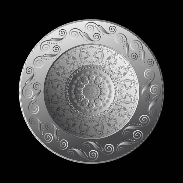 Digital Art - Circumplexical No 3747 by Alan Bennington