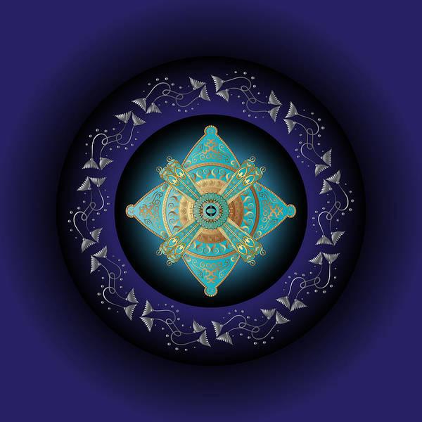 Digital Art - Circumplexical No 3762 by Alan Bennington