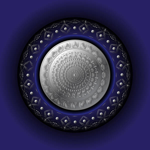 Digital Art - Circumplexical No 3768 by Alan Bennington