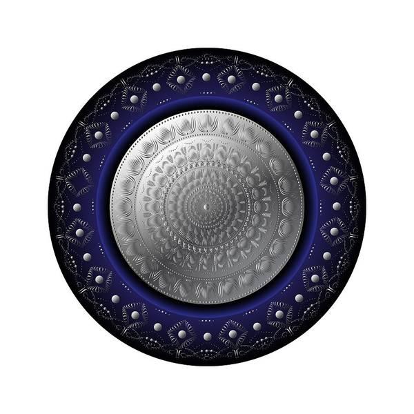 Digital Art - Circumplexical No 3769 by Alan Bennington