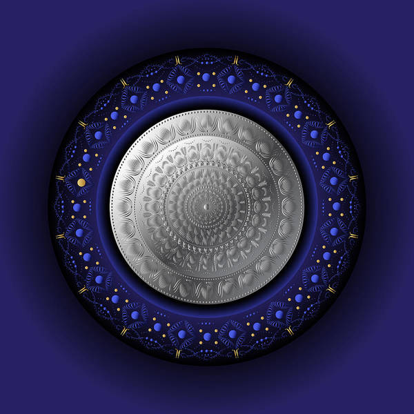 Digital Art - Circumplexical No 3771 by Alan Bennington