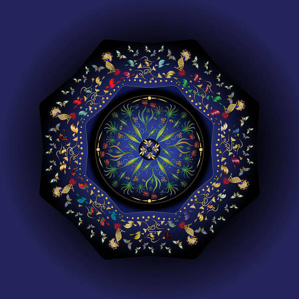 Digital Art - Circumplexical No 3793 by Alan Bennington