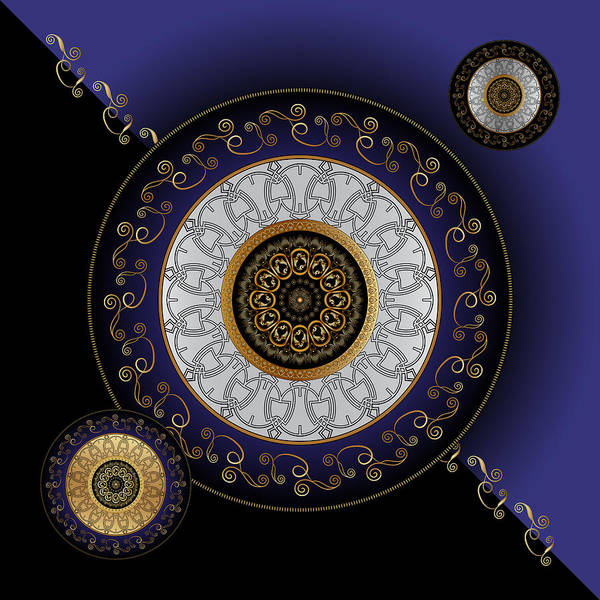 Digital Art - Circumplexical No 3804 by Alan Bennington