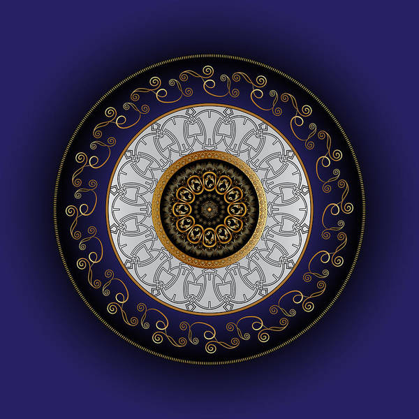 Digital Art - Circumplexical No 3807 by Alan Bennington