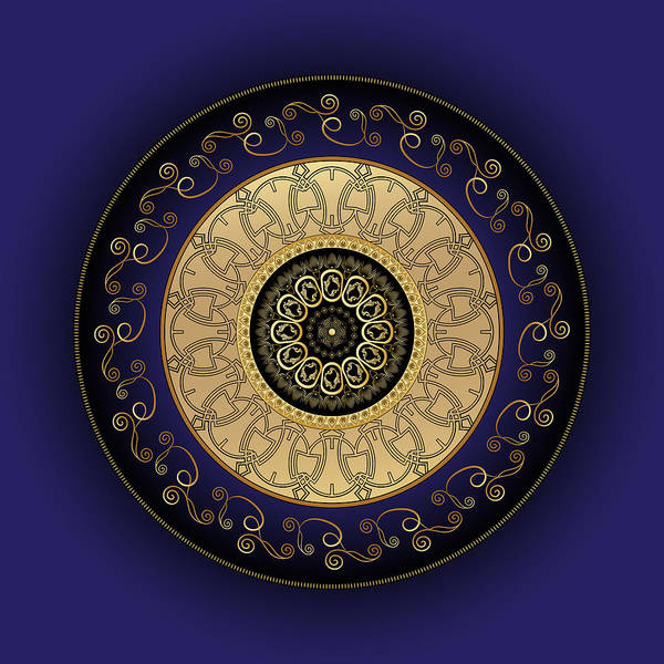 Digital Art - Circumplexical No 3810 by Alan Bennington