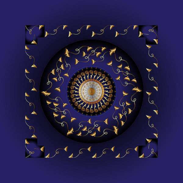 Digital Art - Circumplexical No 3814 by Alan Bennington