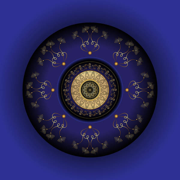 Digital Art - Circumplexical No 3815 by Alan Bennington