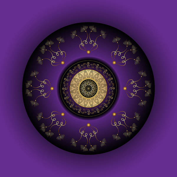Digital Art - Circumplexical No 3817 by Alan Bennington