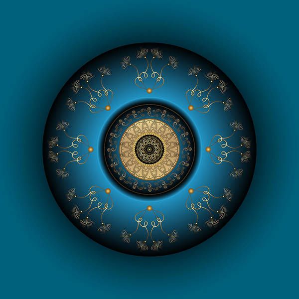 Digital Art - Circumplexical No 3819 by Alan Bennington