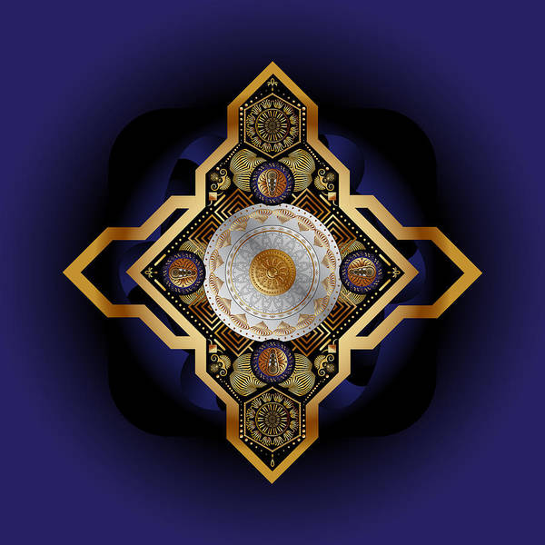 Digital Art - Circumplexical No 3840 by Alan Bennington