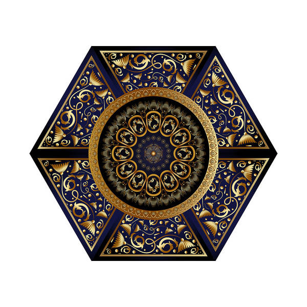 Digital Art - Circumplexical No 3865 by Alan Bennington