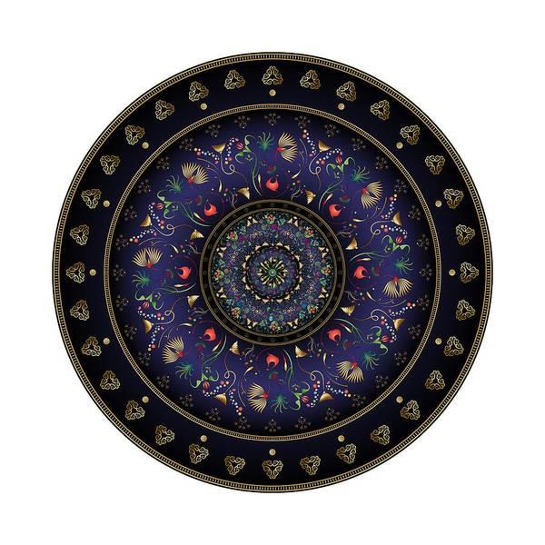 Digital Art - Circumplexical No 3893 by Alan Bennington