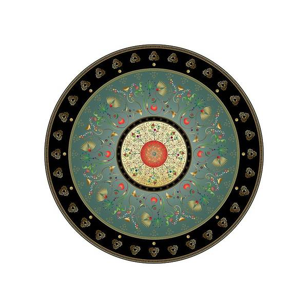 Digital Art - Circumplexical No 3895 by Alan Bennington