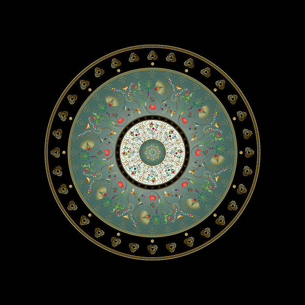 Digital Art - Circumplexical No 3897 by Alan Bennington