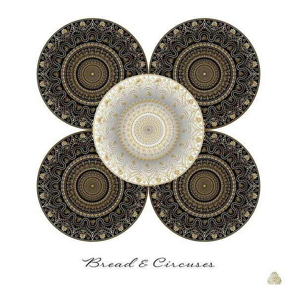 Digital Art - Circumplexical No 3922 by Alan Bennington