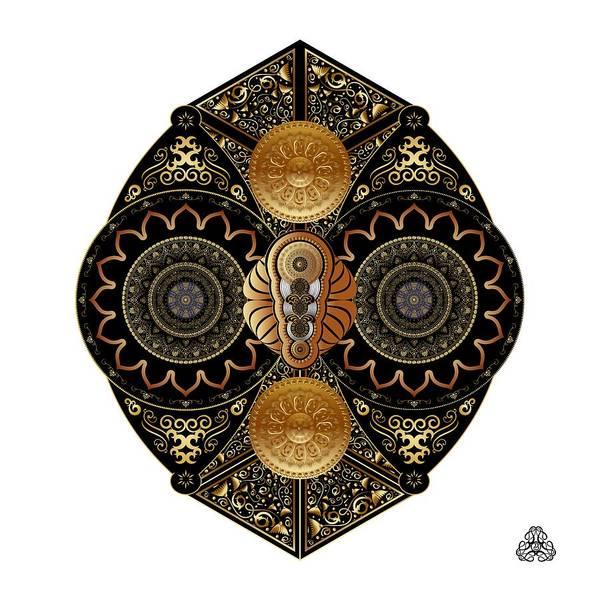 Digital Art - Circumplexical No 3928 by Alan Bennington