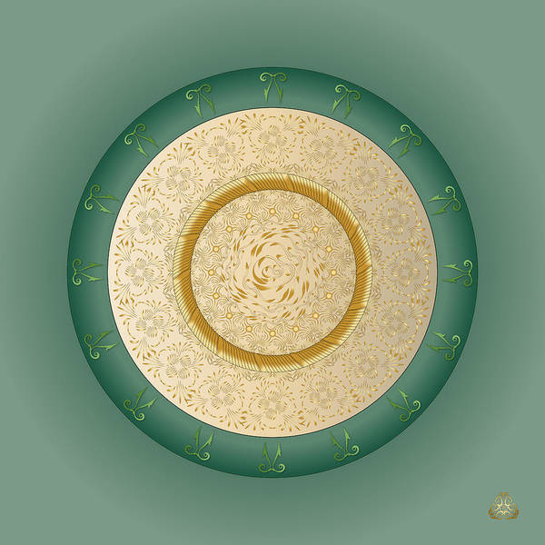 Digital Art - Circumplexical No 3999 by Alan Bennington