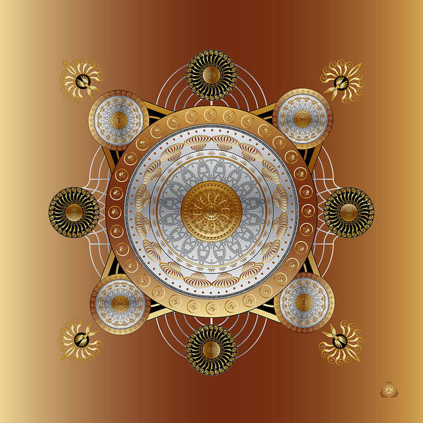 Digital Art - Circumplexical No 4028 by Alan Bennington