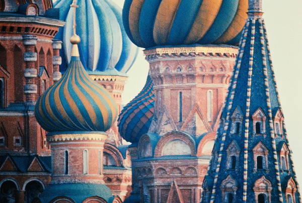 European Union Photograph - Cis,russia,moscow,saint Basils by Steven Weinberg