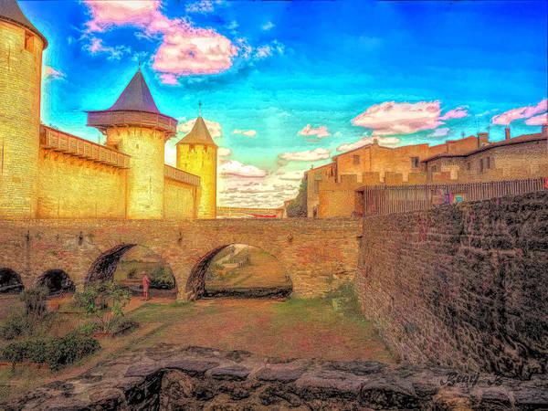 Wall Art - Photograph -  Cite De Carcassonne by Bearj B Photo Art