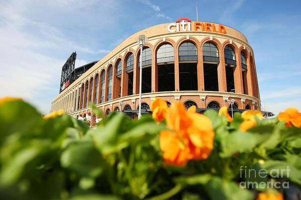 Photograph - Citifield Preview by Mike Stobe