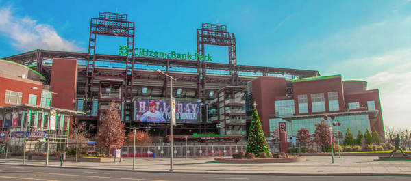 Citizens Bank Park Wall Art - Photograph - Citizens Bank Park - Philadelphia Pennsylvania by Bill Cannon