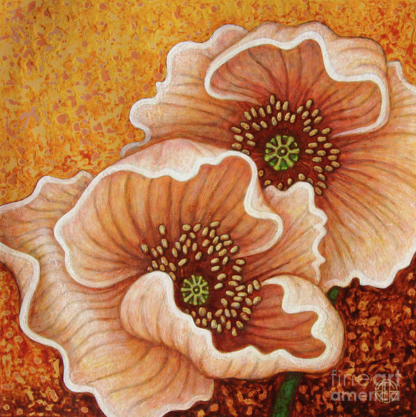 Painting - Citrine Glow by Amy E Fraser