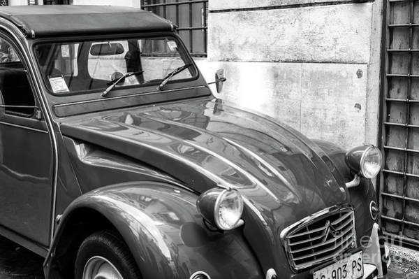 Photograph - Citroen Always In Style Rome by John Rizzuto