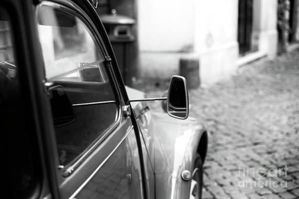 Photograph - Citroen Mirror In Rome by John Rizzuto