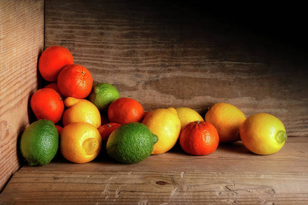 Wall Art - Photograph - Citrus Fruits by Tom Mc Nemar
