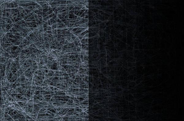 Digital Art - City Abstract Moon 1 by Artist Dot