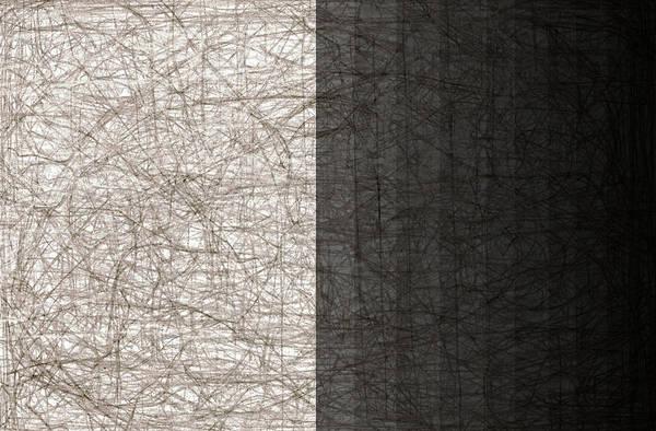 Digital Art - City Abstract Moon 2 by Artist Dot