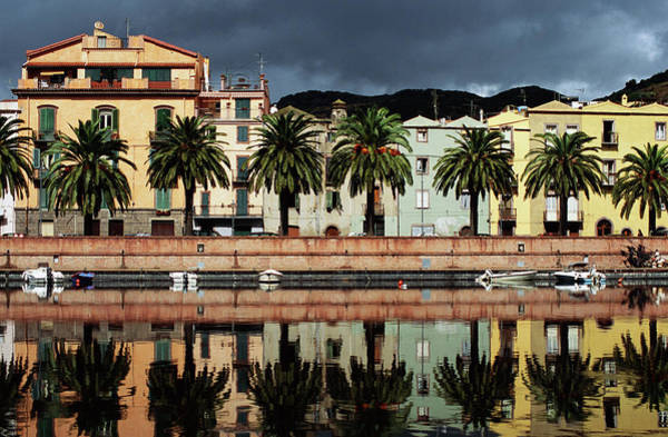 Sardinia Photograph - City And Waterfront, Bosa, Sardinia by Radius Images