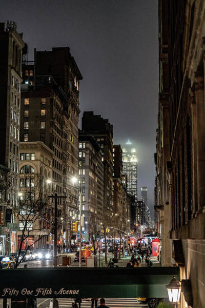 Photograph - City At Night by Sharon Popek