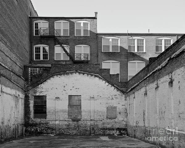 Photograph - City Courtyard by Patrick M Lynch