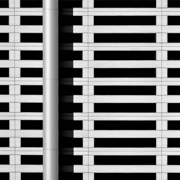 Photograph - City Grid 5 by Stuart Allen