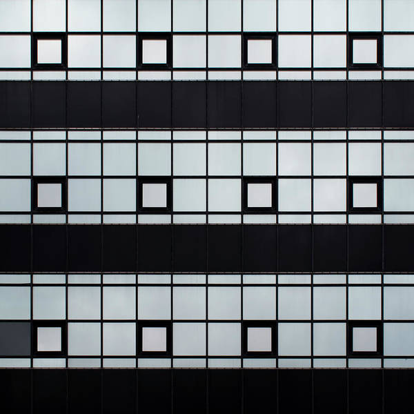 Photograph - City Grids 45 by Stuart Allen