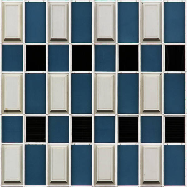 Photograph - City Grids 55 by Stuart Allen