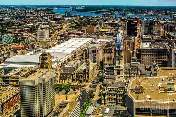 Photograph - City Hall From Above by Nick Zelinsky