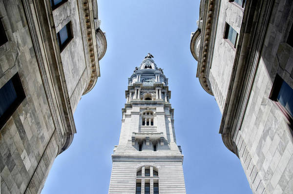 Wall Art - Photograph - City Hall In Center City Philadelphia by Bill Cannon
