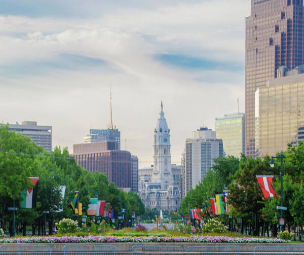 Wall Art - Photograph - City Hall In Philadelphia - Parkway View by Bill Cannon