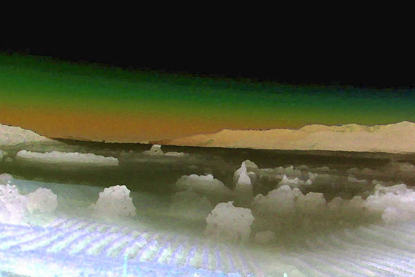 Digital Art - City In The Clouds by Gail Daley