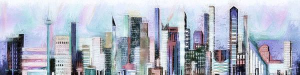 Digital Art - City Life by Pennie McCracken